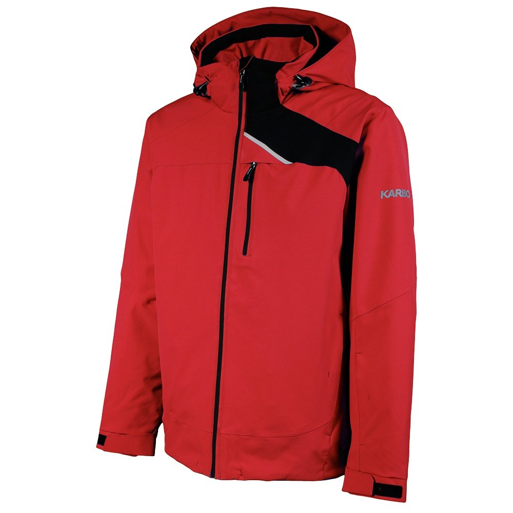 Karbon Chromium Insulated Ski Jacket (Men's) - Red/Black