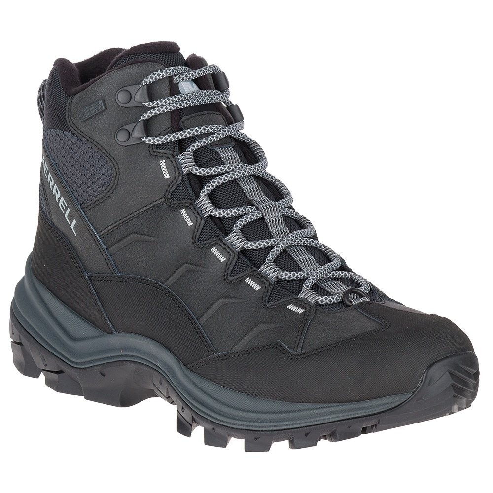 Merrell Thermo Chill Mid Shell Waterproof Boot (Men's) - Black