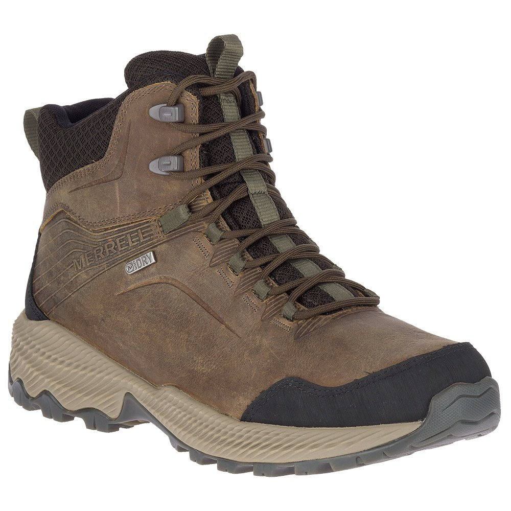 Merrell Forestbound Mid Waterproof Hiking Boot (Men's) - Cloudy