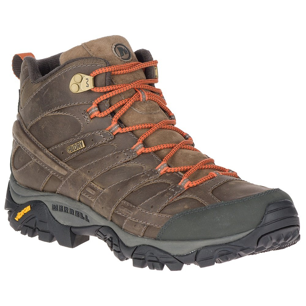 Merrell Moab 2 Prime Mid Waterproof Hiking Boot (Men's) - Canteen