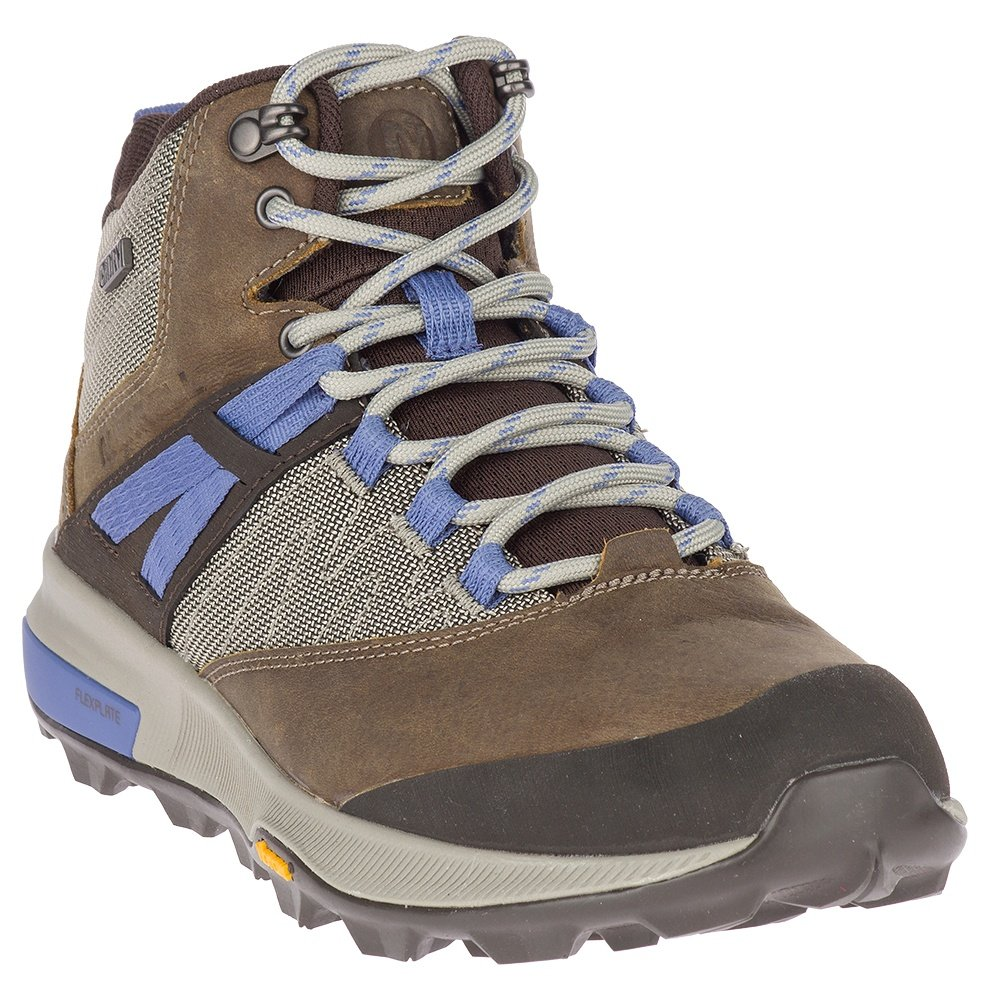 Merrell Zion Mid Waterproof Hiking Boot (Women's) - Cloudy
