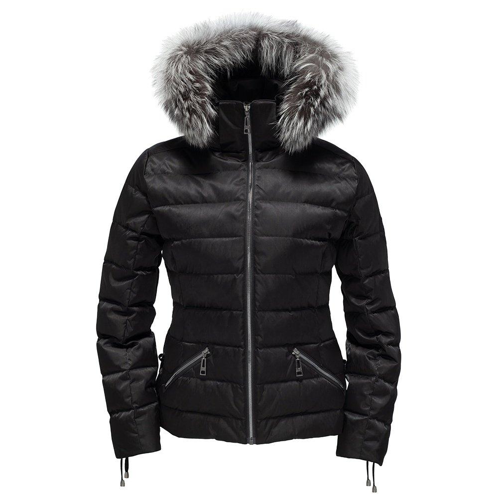Skea Deva Down Jacket with Real Fur (Women's) - Black