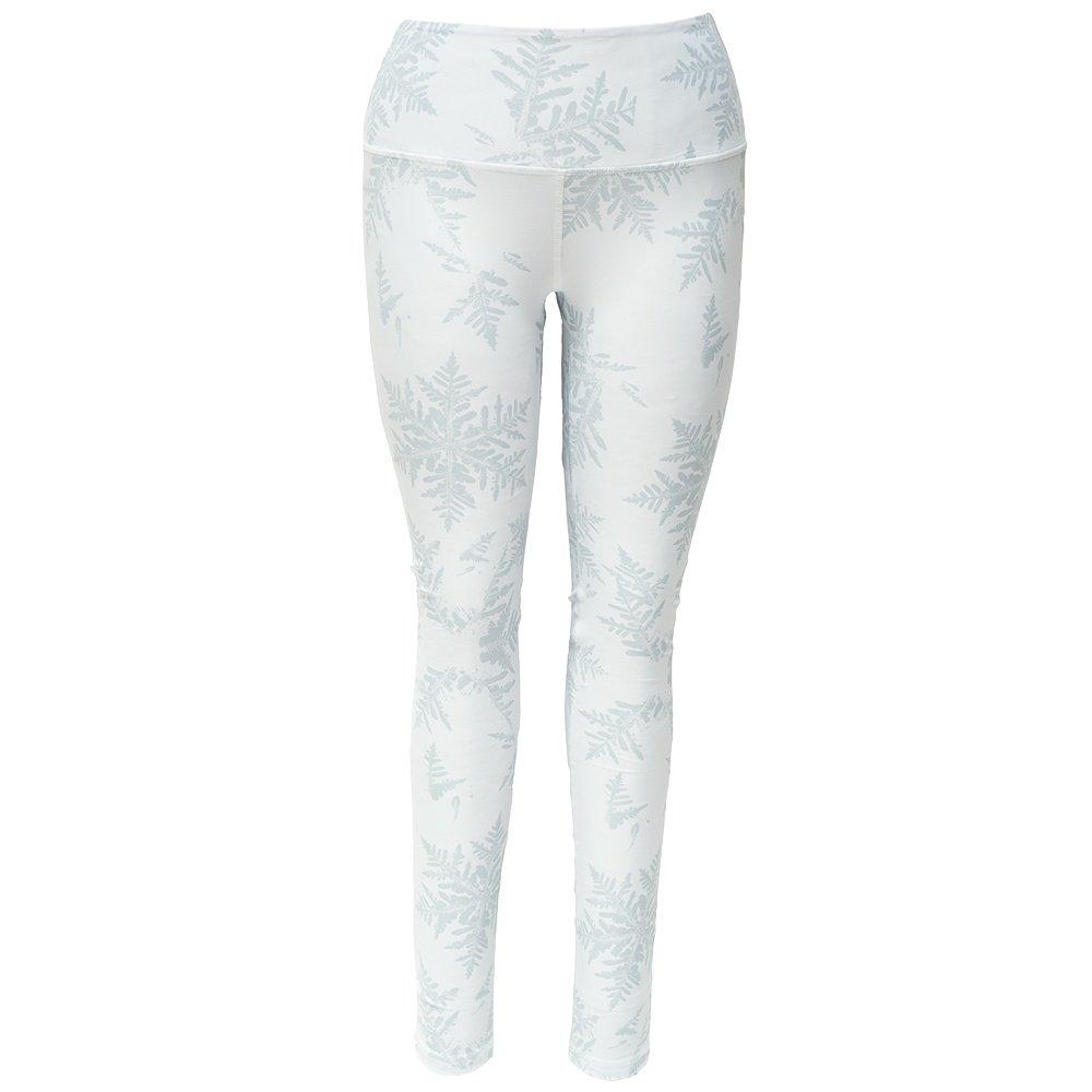 Skea Leggie Baselayer Bottom (Women's) - Snowflake White