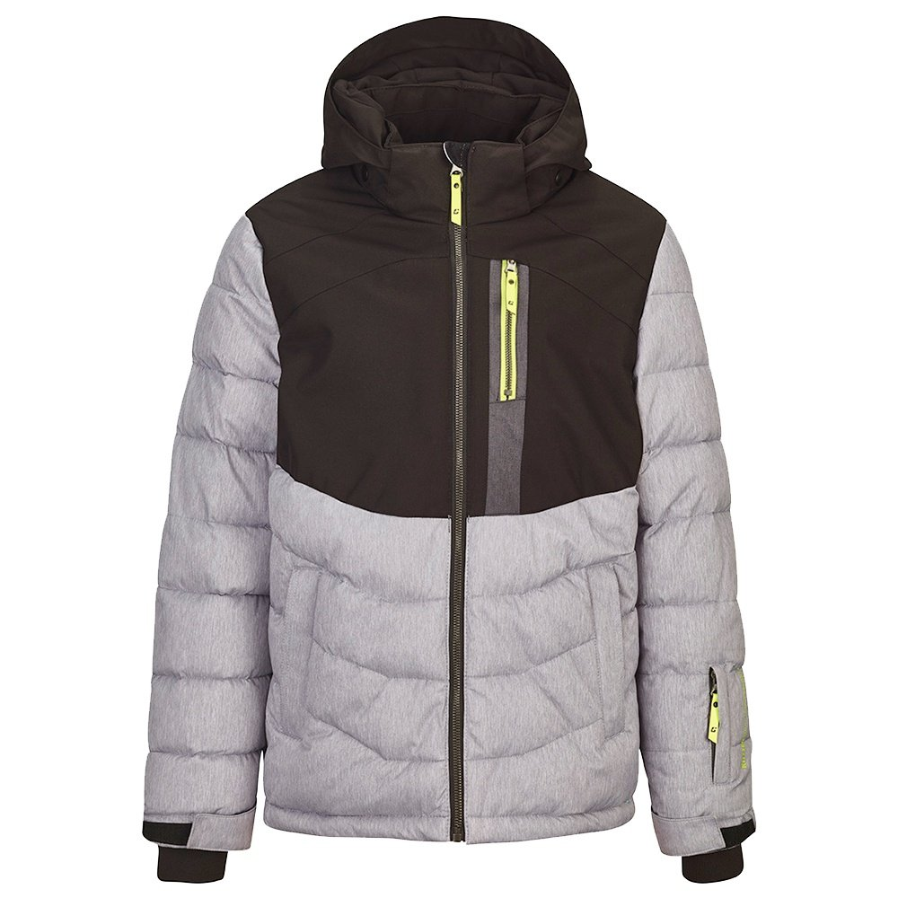 Killtec Eloi Insulated Ski Jacket (Boys') - Light Grey Melange
