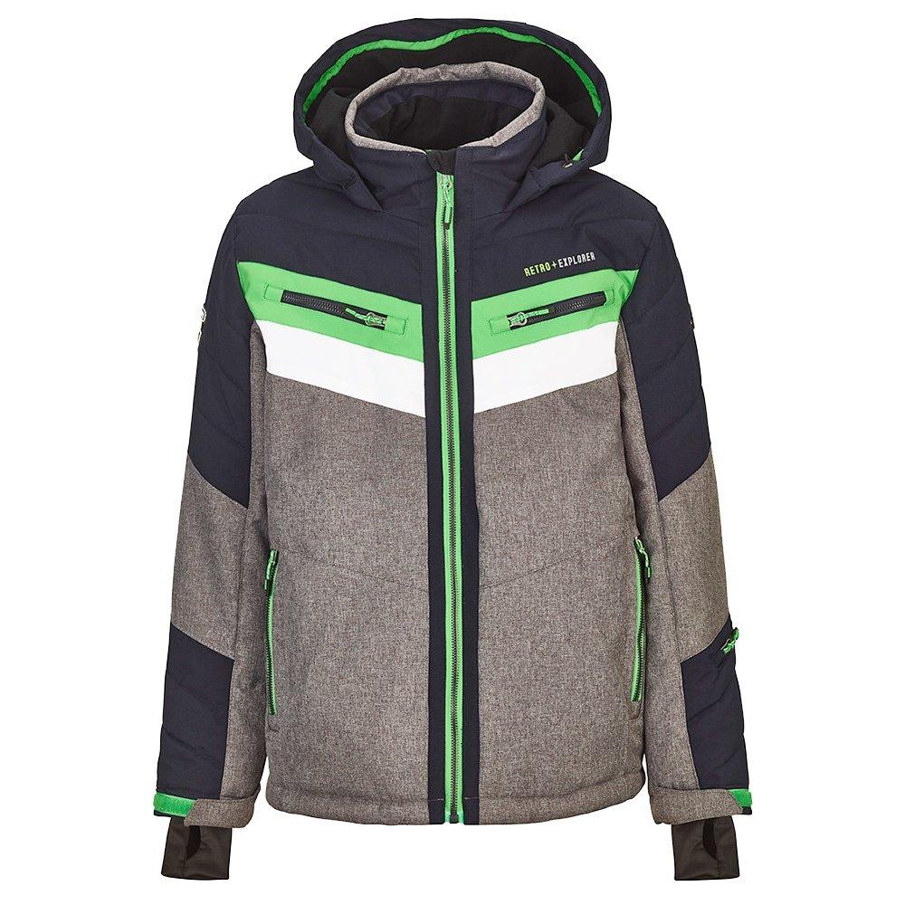 Killtec Polk Insulated Ski Jacket (Boys') - Grey Melange