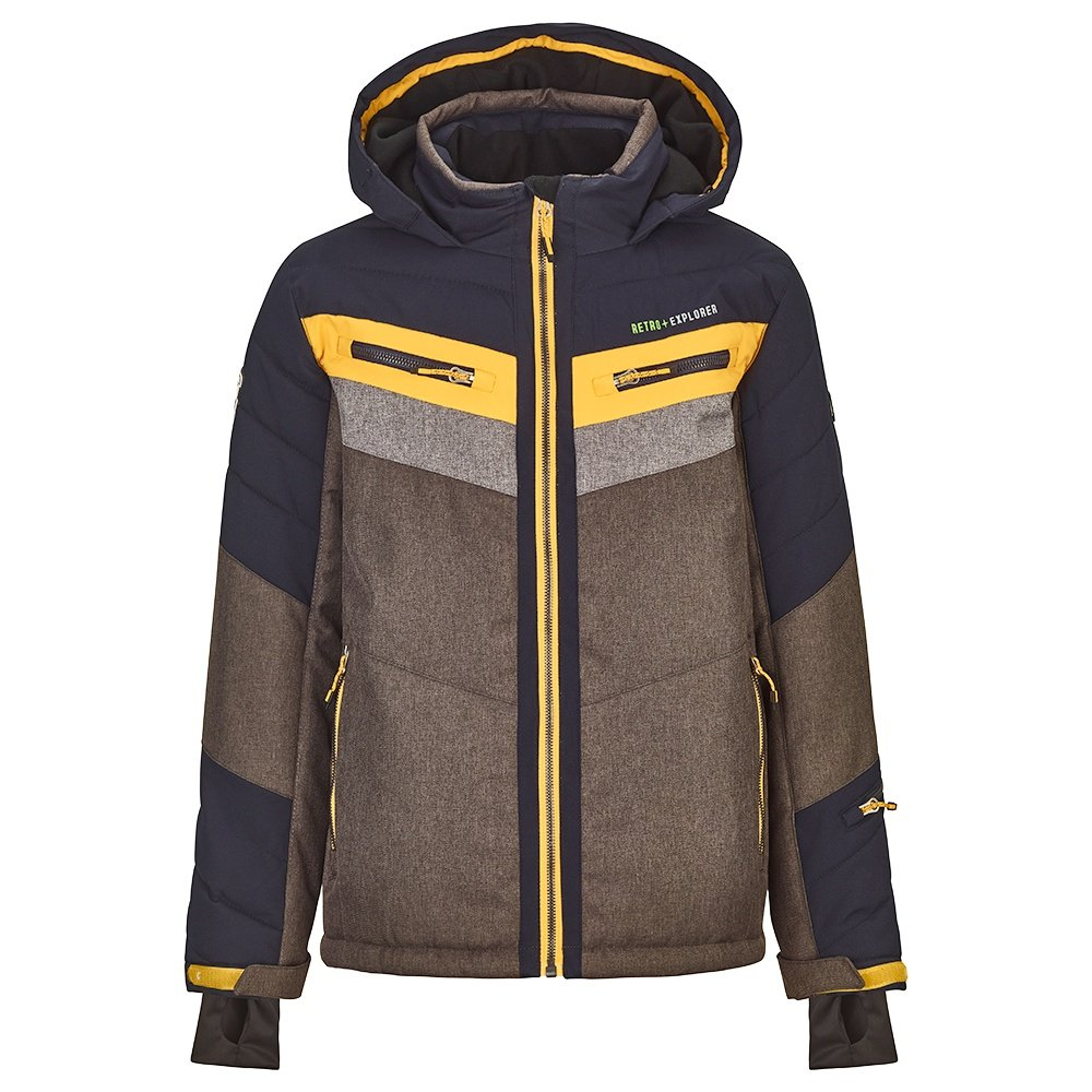 Killtec Polk Insulated Ski Jacket (Boys') - Anthracite Melange