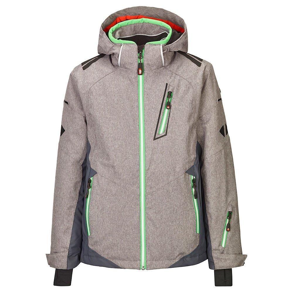 Killtec Mylo Insulated Ski Jacket (Boys') - Grey Melange