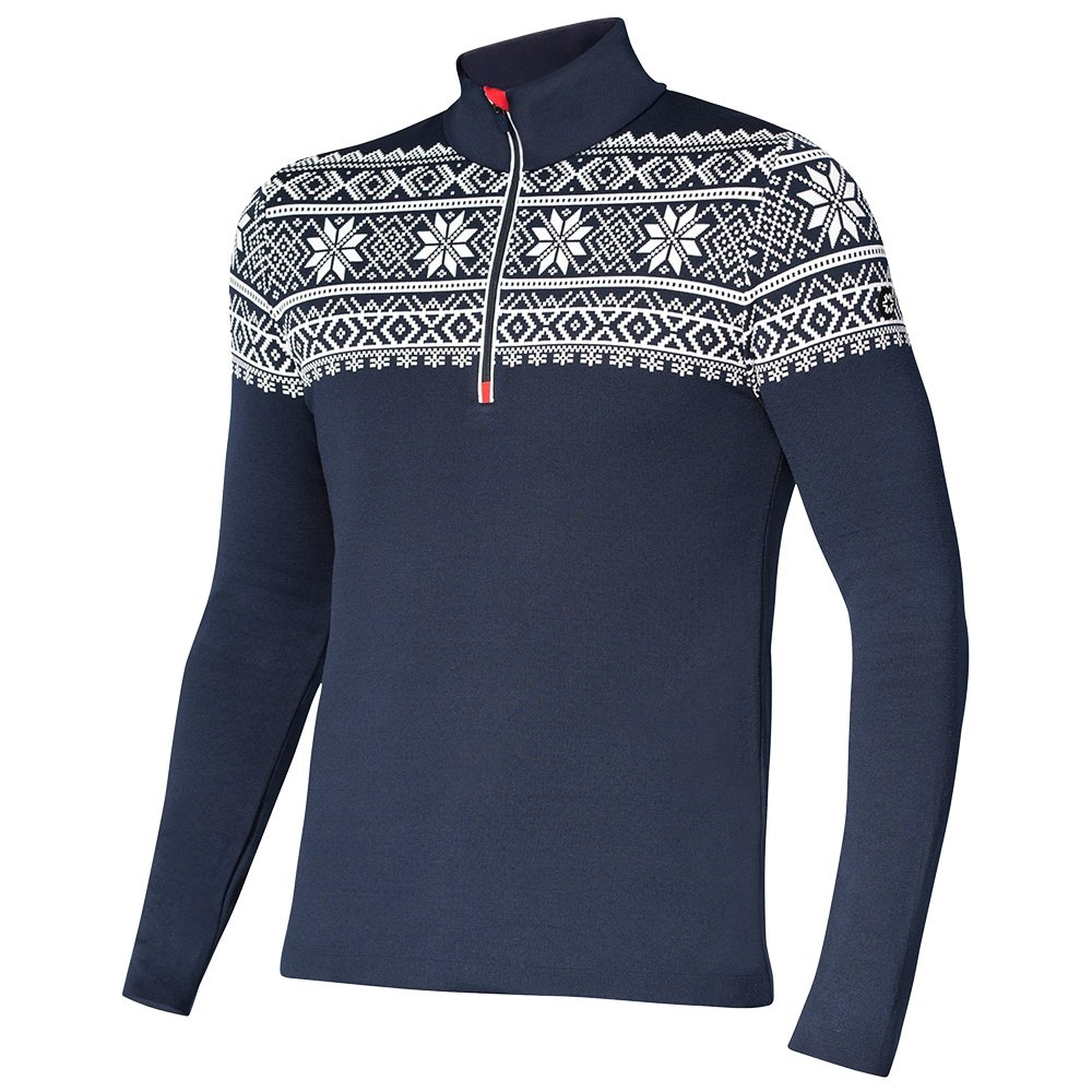Newland Delmar Sweater (Men's) - Navy/White