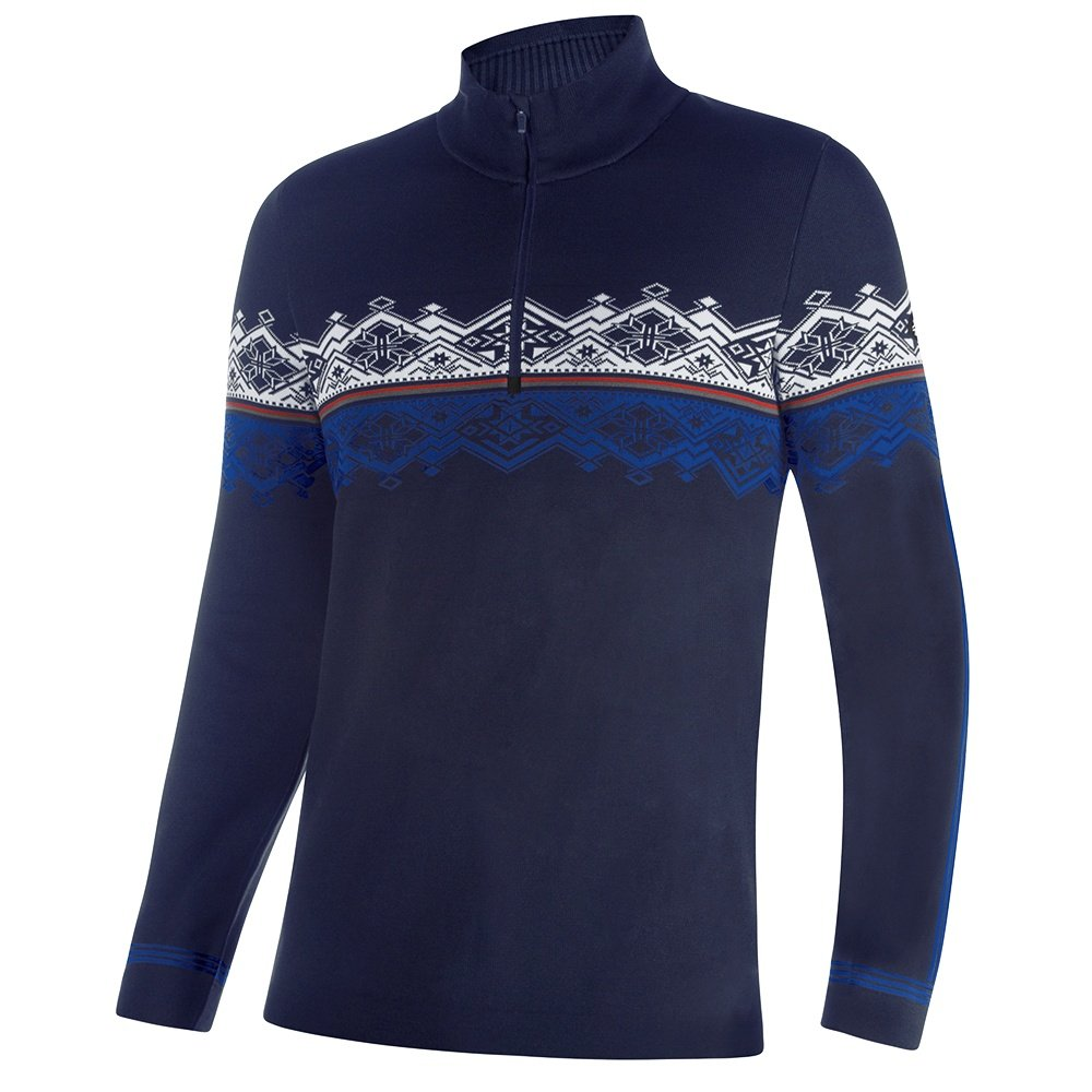 Newland Hunter 1/2-Zip Sweater (Men's)  - Navy/White