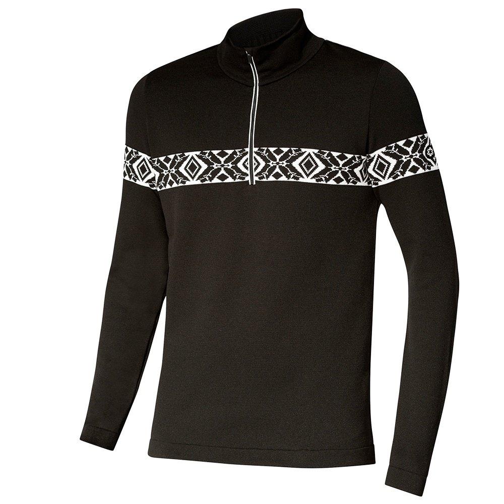 Newland John Half-Zip Sweater (Men's) - Black/White