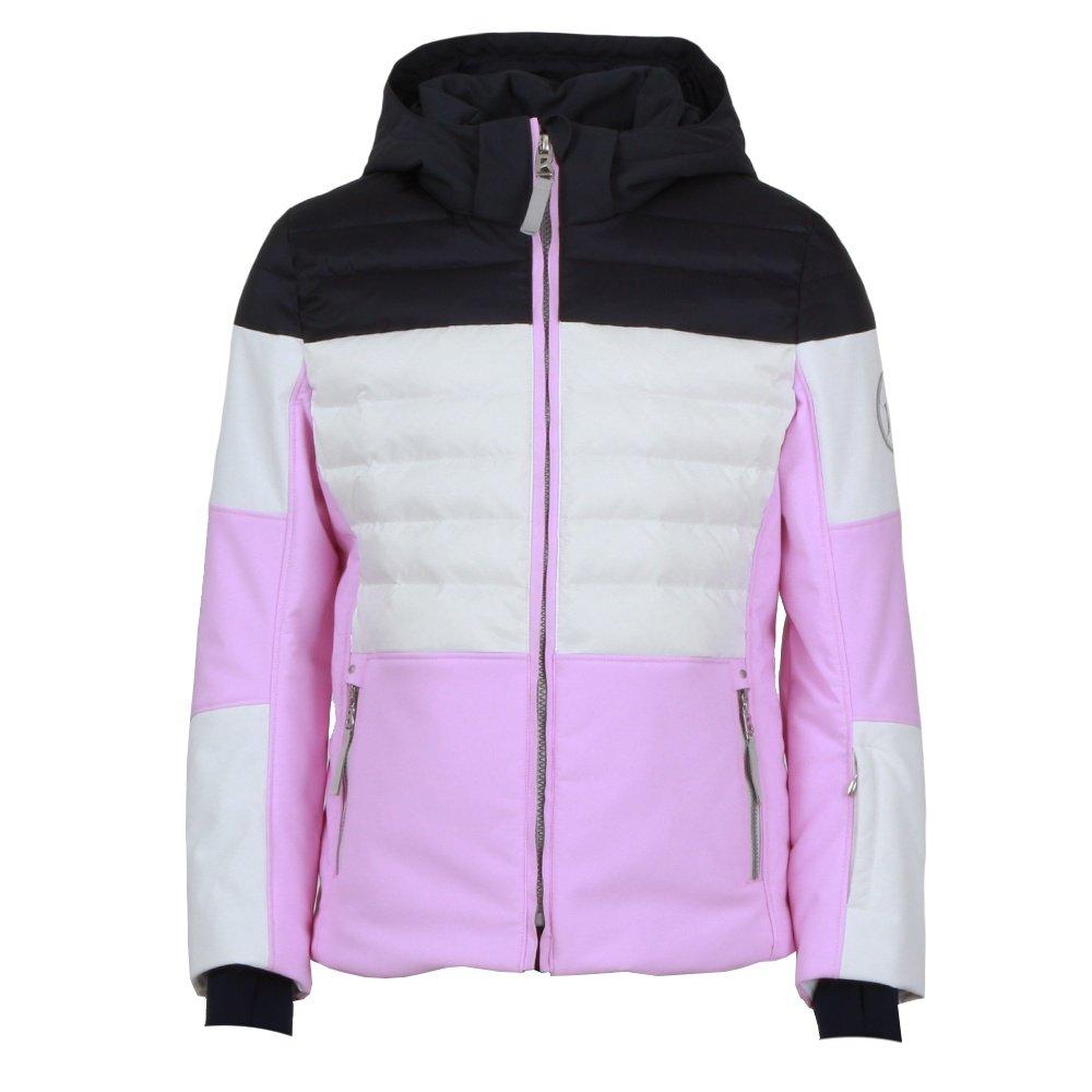 Bogner Deli-D Down Ski Jacket (Girls') - Lavender Rose/White/Blue