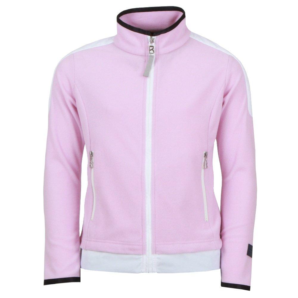Bogner Flora Full Zip Sweater (Girls') - Lavender Rose