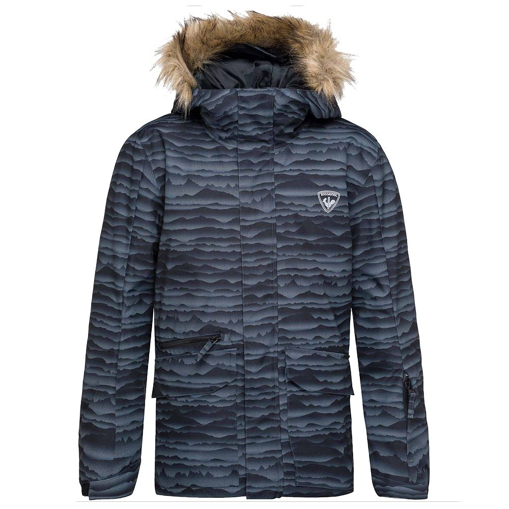 Rossignol Parka Print Insulated Ski Jacket (Boys') - Cloudy