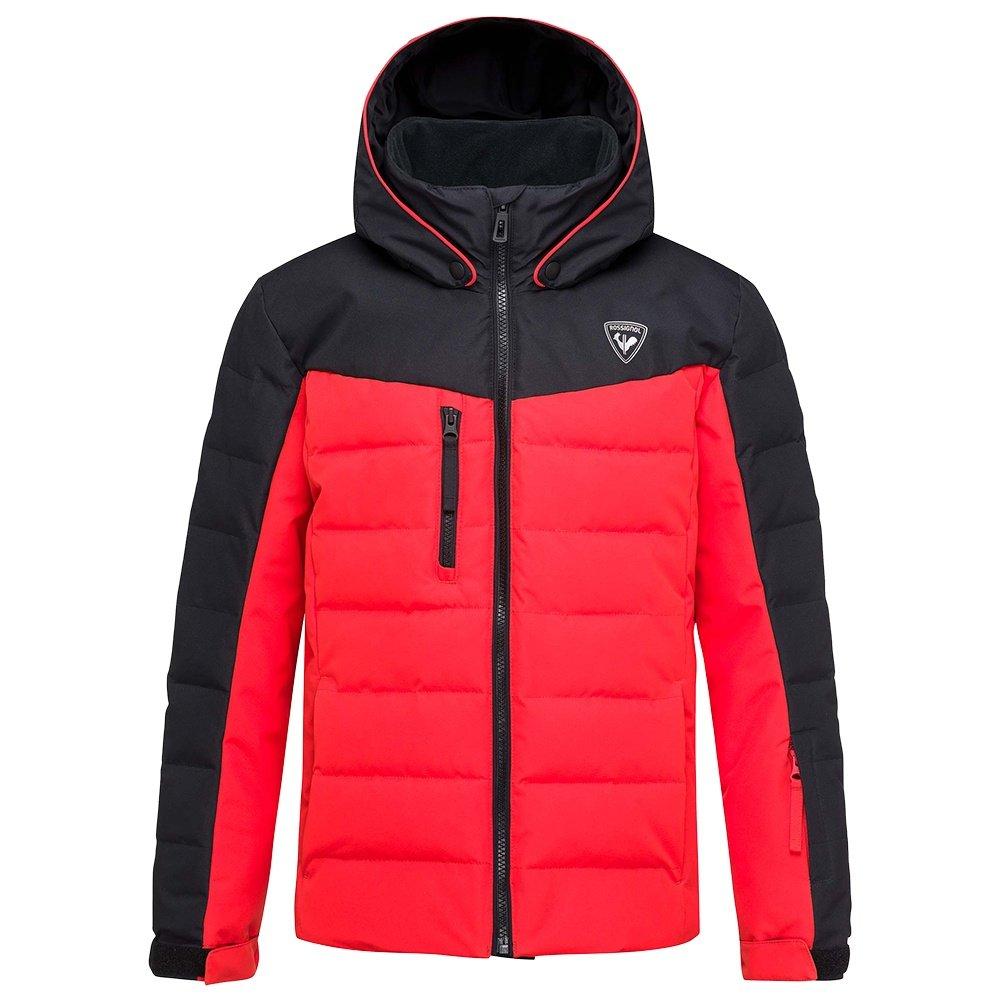 Rossignol Polydown Insulated Ski Jacket (Boys') - Crimson