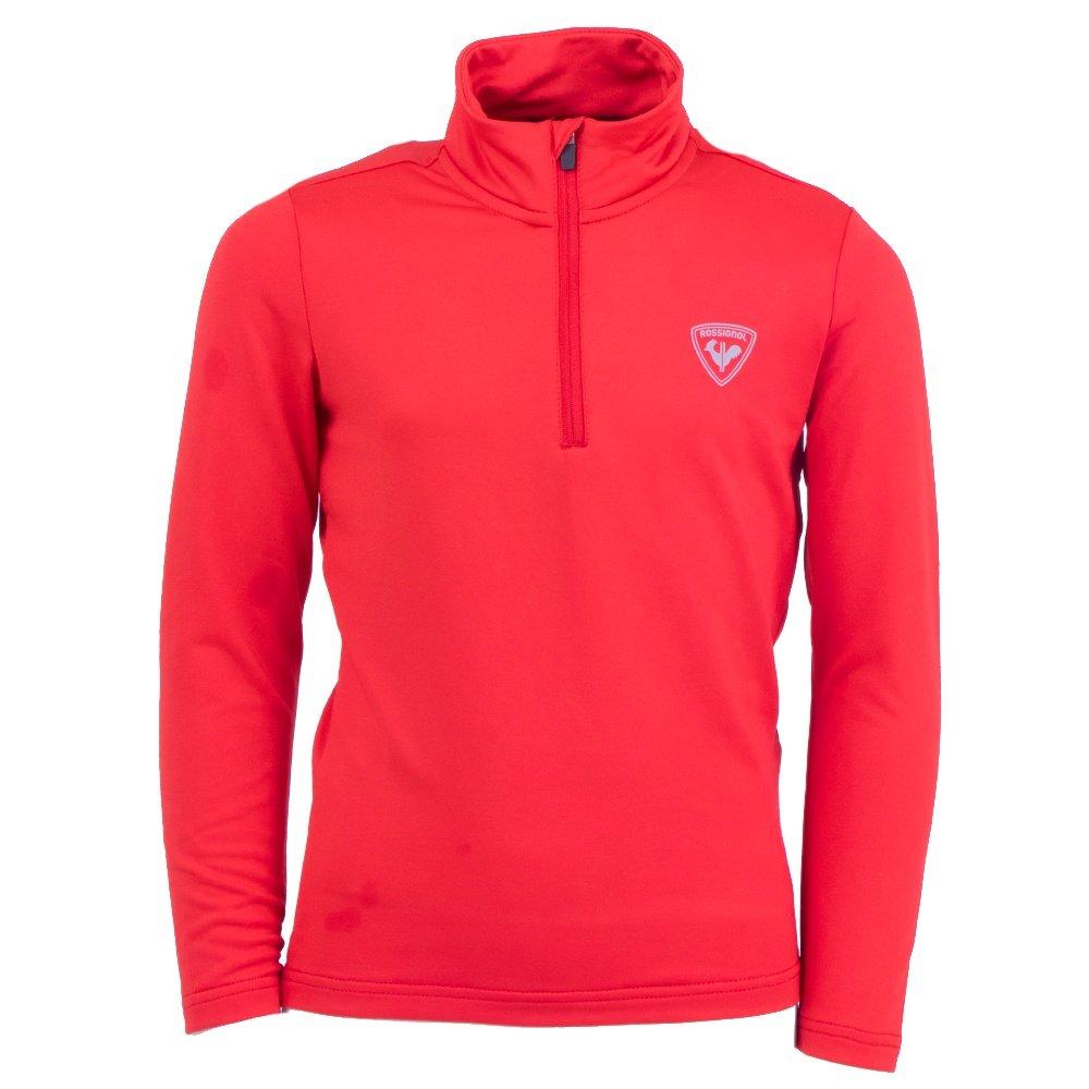 Rossignol 1/2-Zip Warm Stretch Mid-Layer (Boys') - Sports Red
