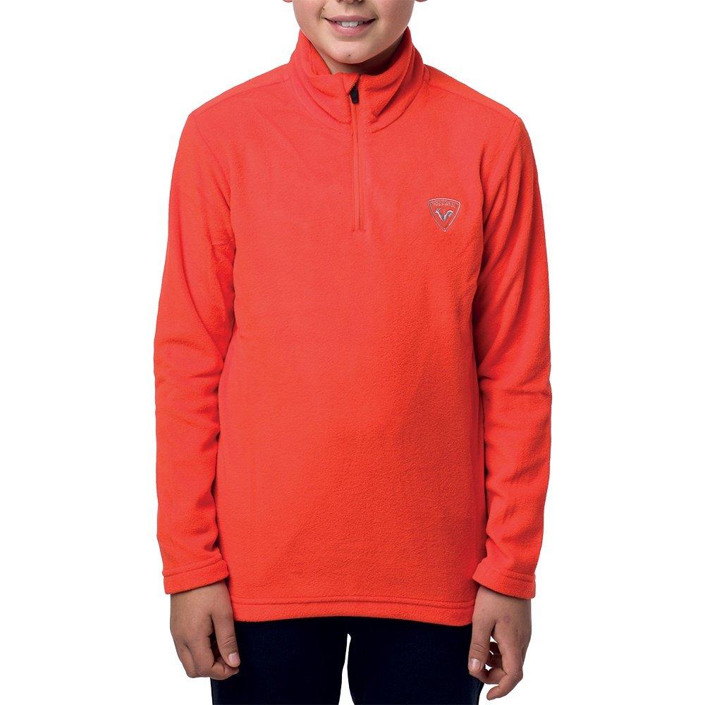 Rossignol 1/2-Zip Fleece Mid-Layer (Boys') - Lava Orange