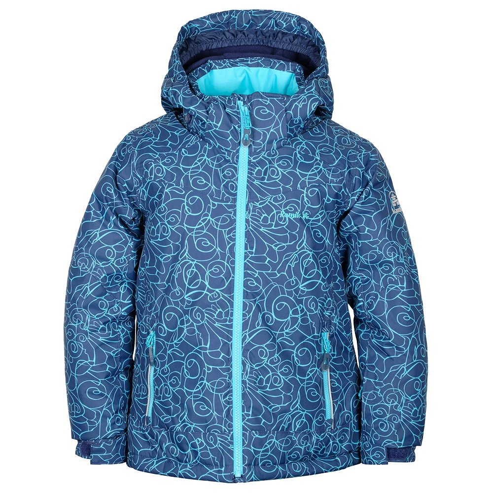 Kamik Tessie-Tiptoe Insulated Ski Jacket (Little Girls') - Navy