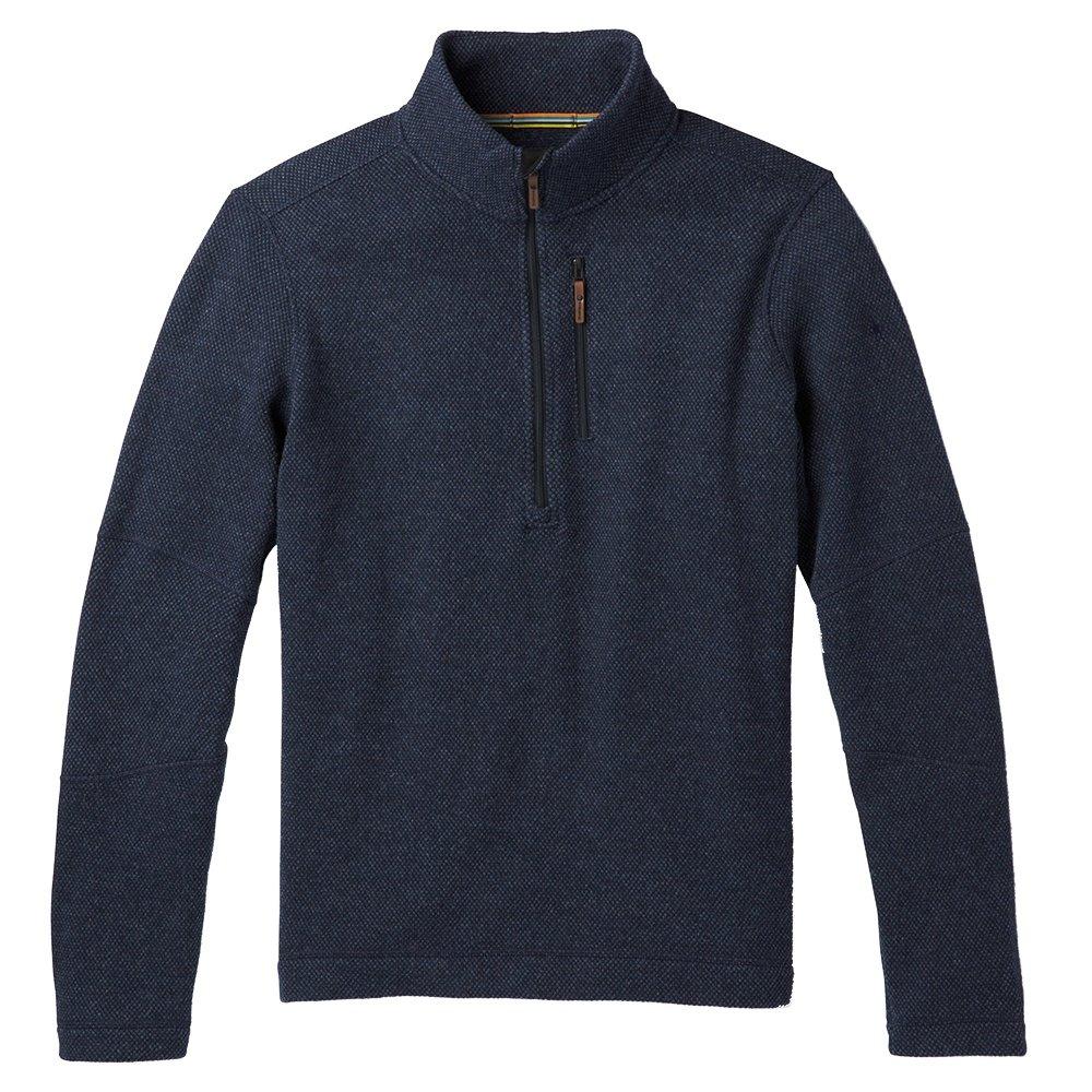SmartWool Hudson Trail Fleece 1/2-Zip Sweater (Men's) - Navy