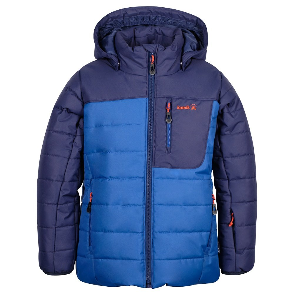 Kamik Vans Insulated Ski Jacket (Little Boys') - Navy/Blue