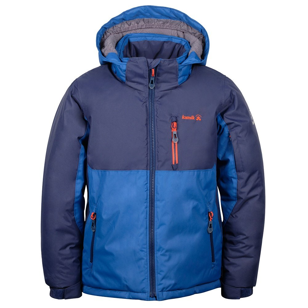 Kamik Finn Insulated Ski Jacket (Little Boys') - Navy/Blue