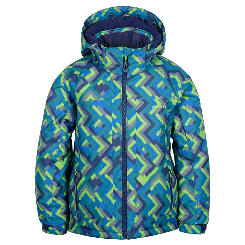 Kamik Rusty Grid Insulated Ski Jacket (Little Boys') -