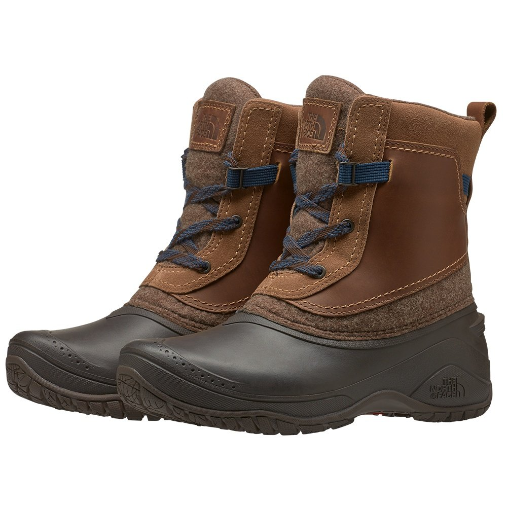 The North Face Shellista III Shorty Boot (Women's) - Demitasse Brown