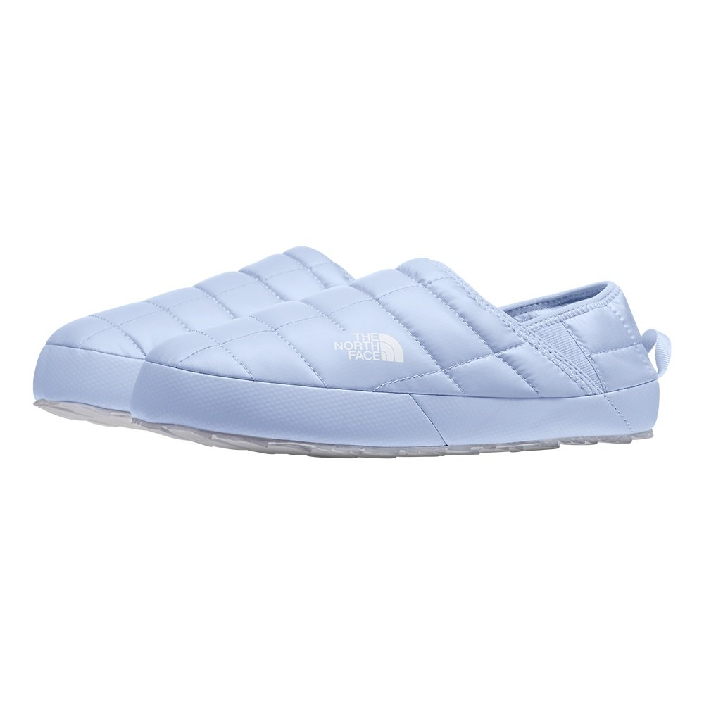 The North Face ThermoBall Traction Mule V Slipper (Women's) - Mist Blue/TNF White