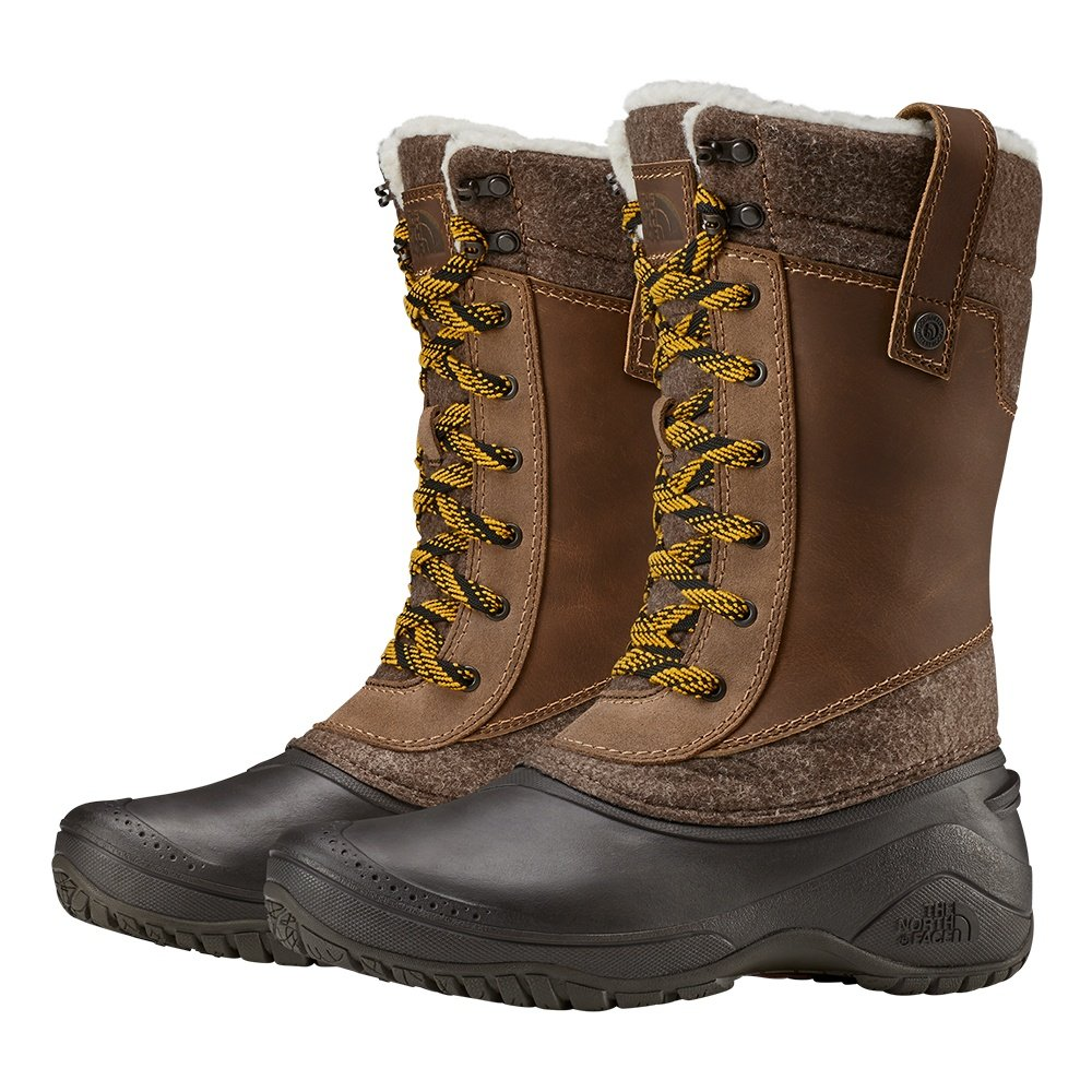 The North Face Shellista III Mid Boot (Women's) - Demitasse Brown/Carafe Brown