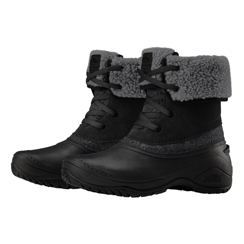 The North Face Shellista II Roll-Down Boot (Women's) - TNF Black