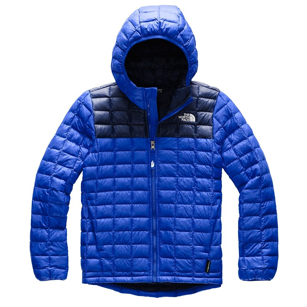 The North Face ThermoBall Eco Hoodie (Boys') - TNF Blue