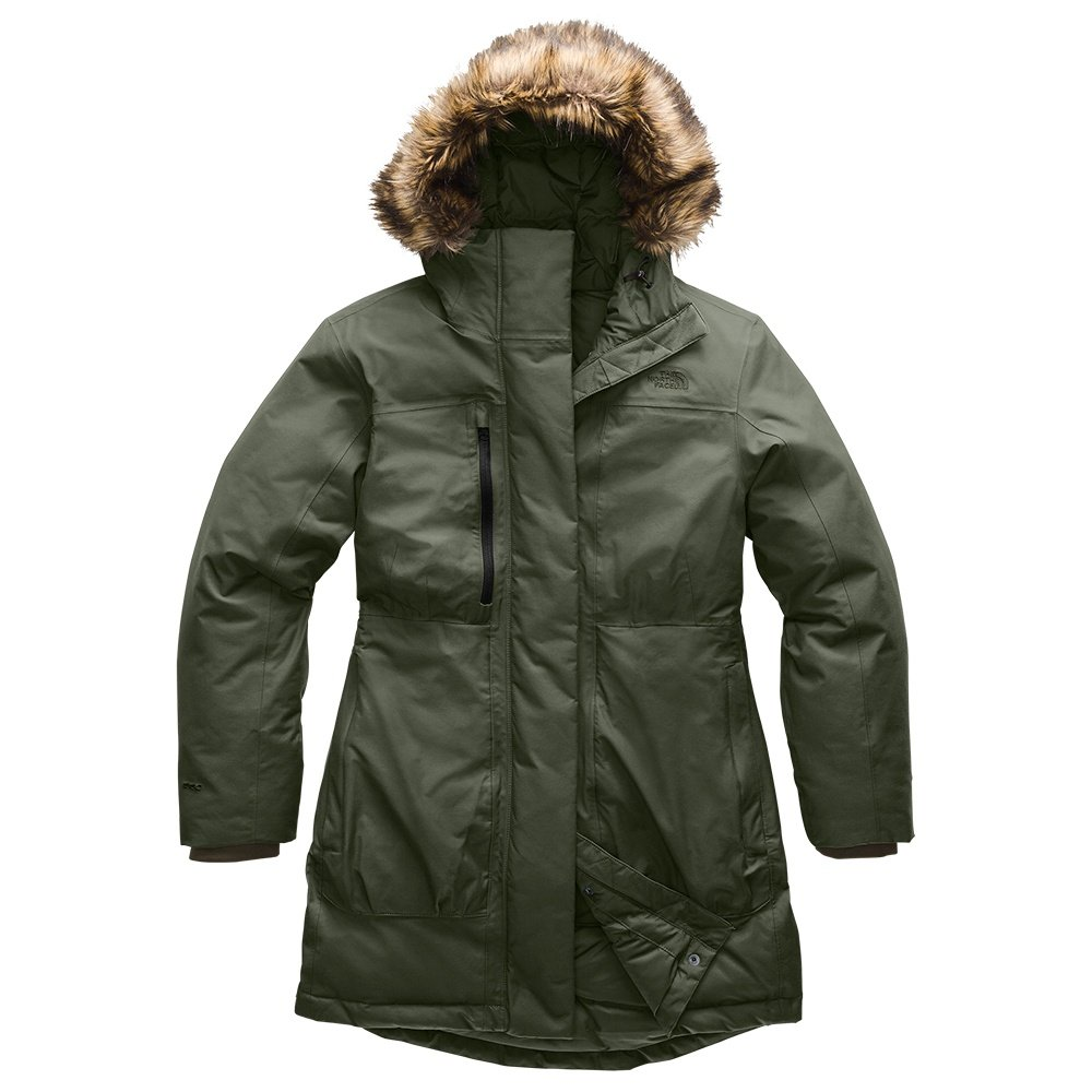 The North Face Downtown Parka (Women's) - New Taupe Green