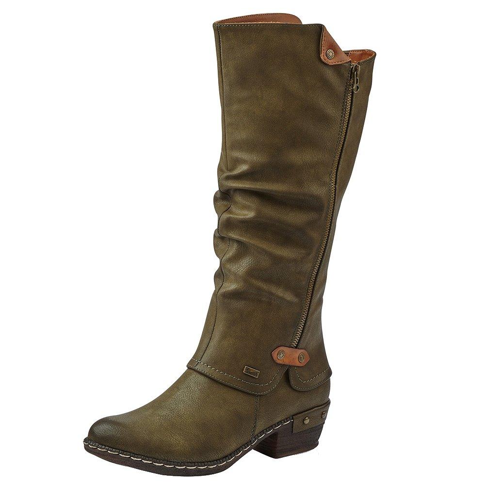Rieker Bernadette 55 Winter Boot (Women's) - Olive