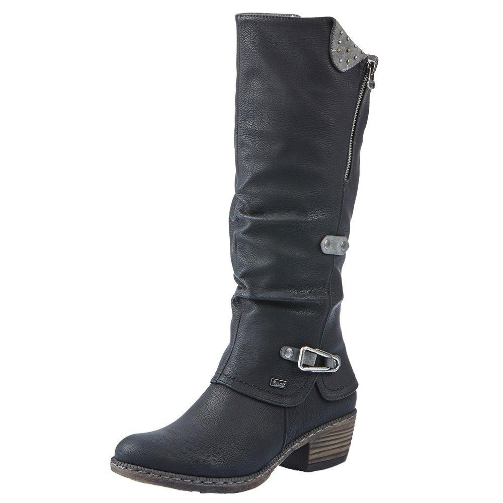 Rieker Bernadette 52 Winter Boots (Women's) - Schwarz