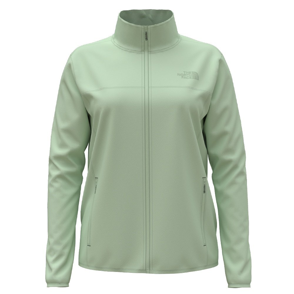 The North Face TKA Glacier Full Zip Jacket (Women's) - Misty Jade