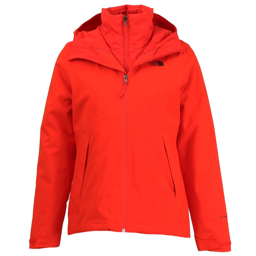 The North Face Carto Triclimate Jacket (Women's) - Fiery Red