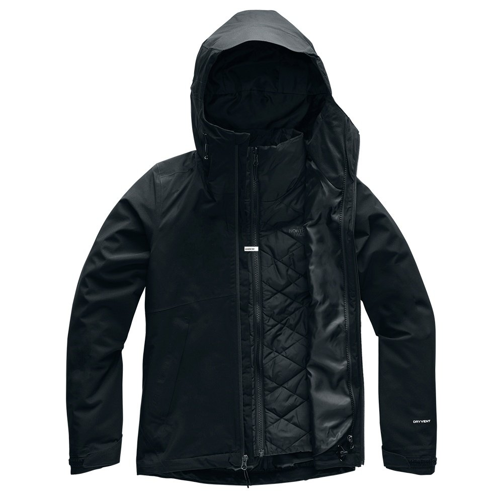 The North Face Carto Triclimate Jacket (Women's) - Black