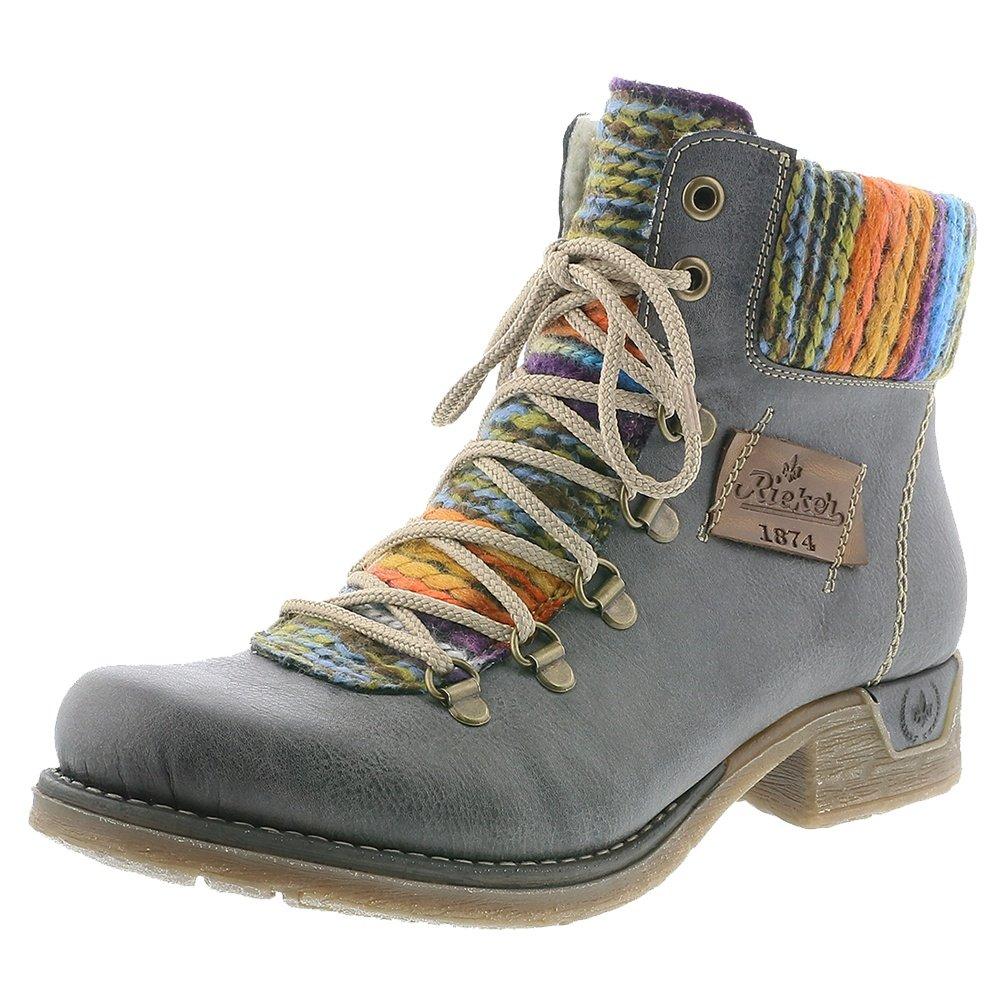 Rieker Fee 43 Winter Boot (Women's) - Basalt