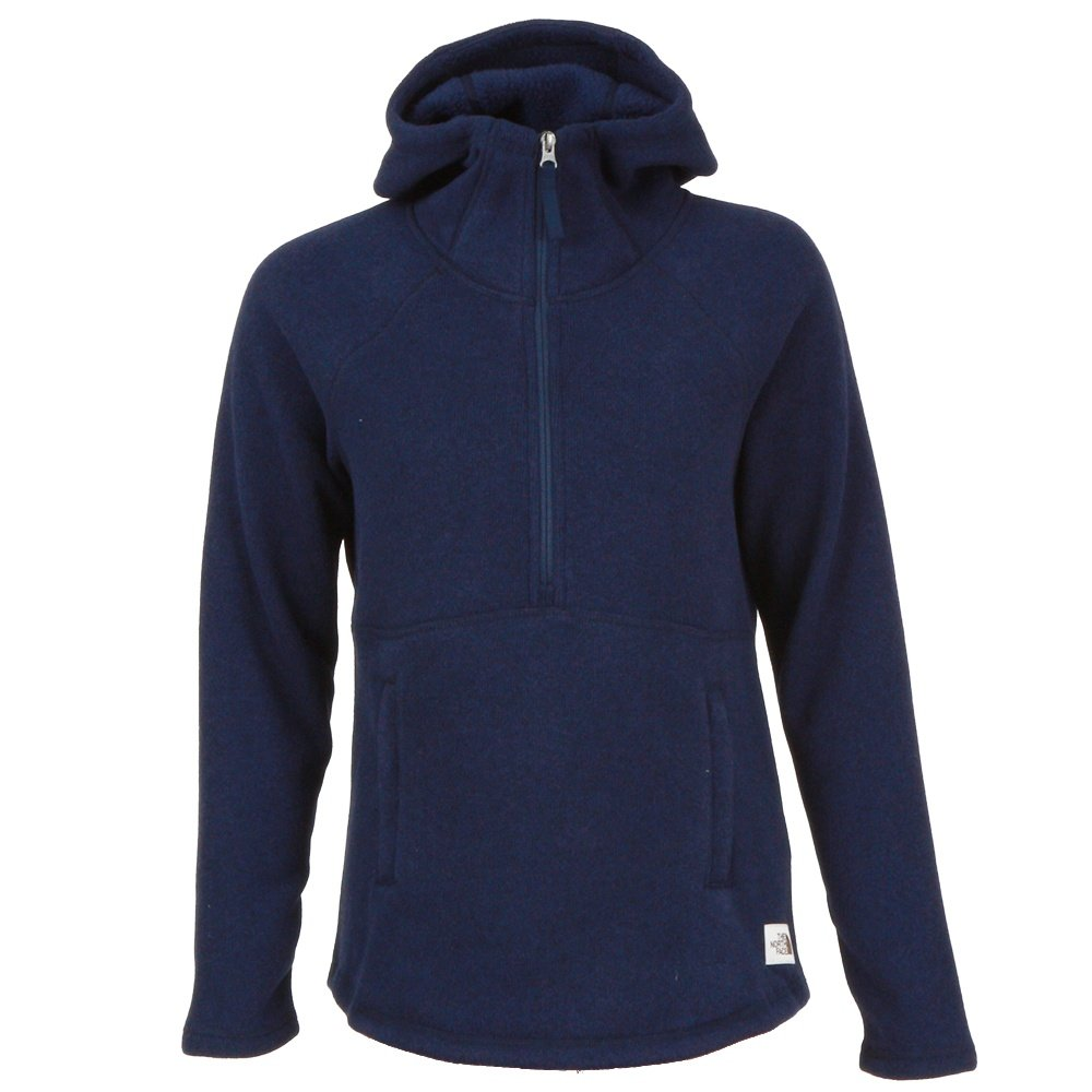 The North Face Crescent Hooded Pullover (Women's) - Montague Blue Heather