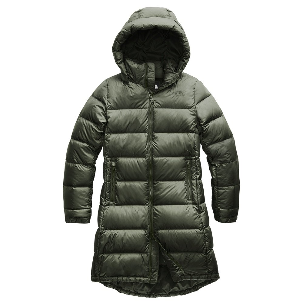 The North Face Metropolis Parka III (Women's) - New Taupe Green
