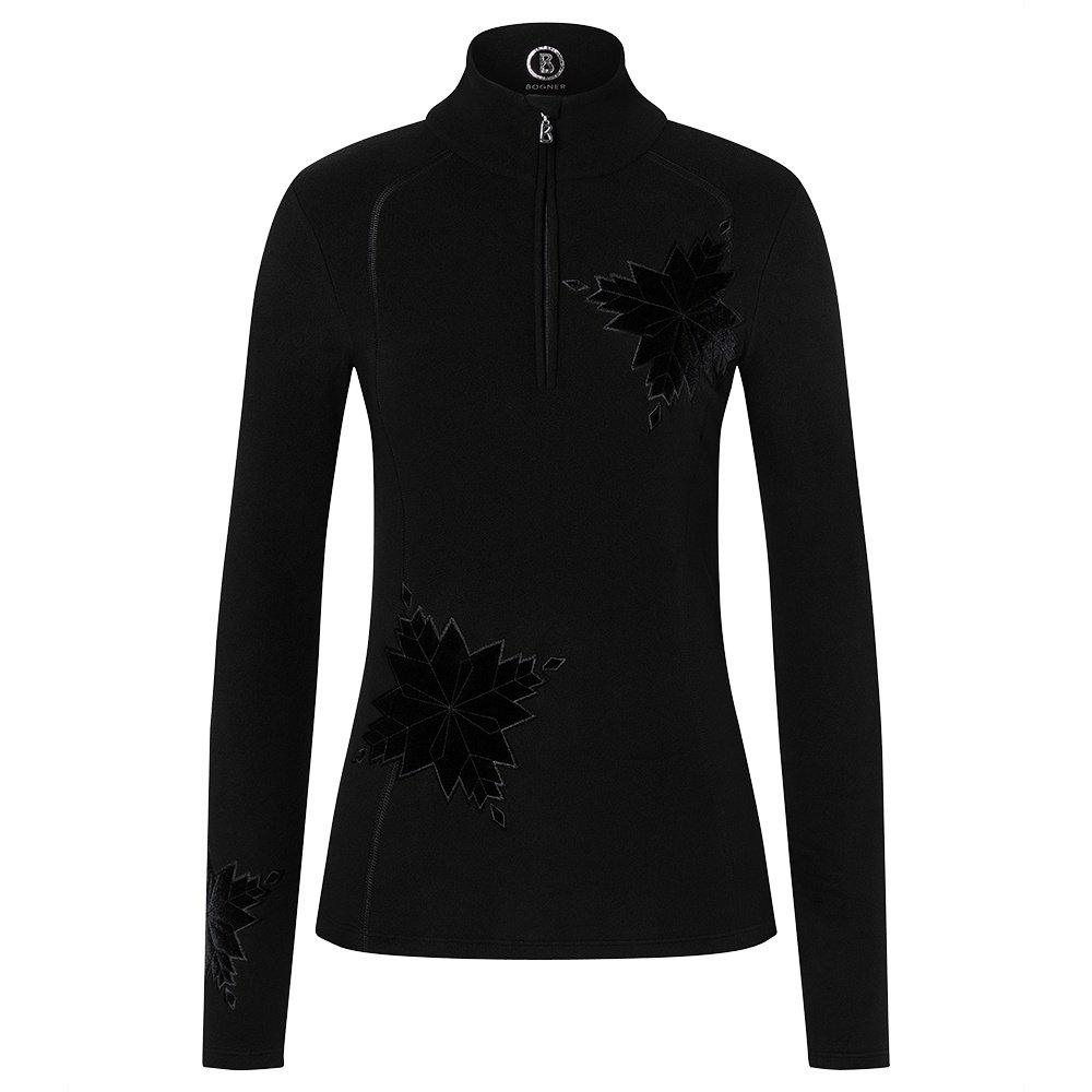 Bogner Madita 1/4-Zip Mid-Layer (Women's) - Black