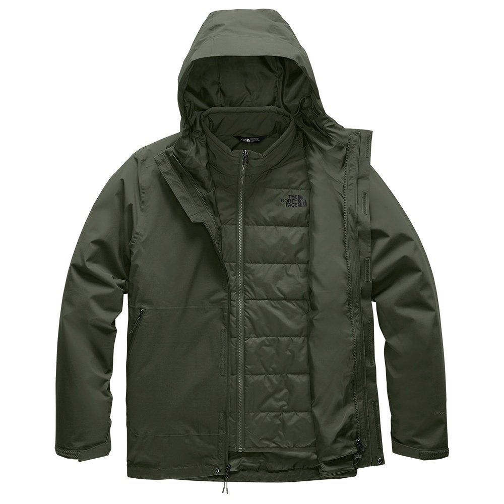 The North Face Carto Triclimate Jacket (Men's) - New Taupe Green/Four Leaf Clover