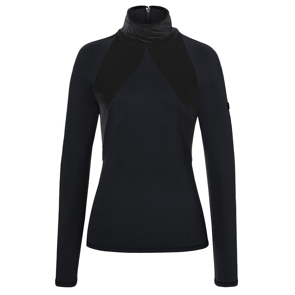 Bogner Rosali Back Zip Turtleneck Mid-Layer (Women's) - Black