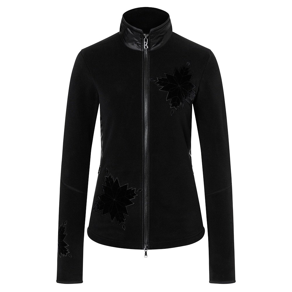 Bogner Graze Full Zip Sweater (Women's) - Black