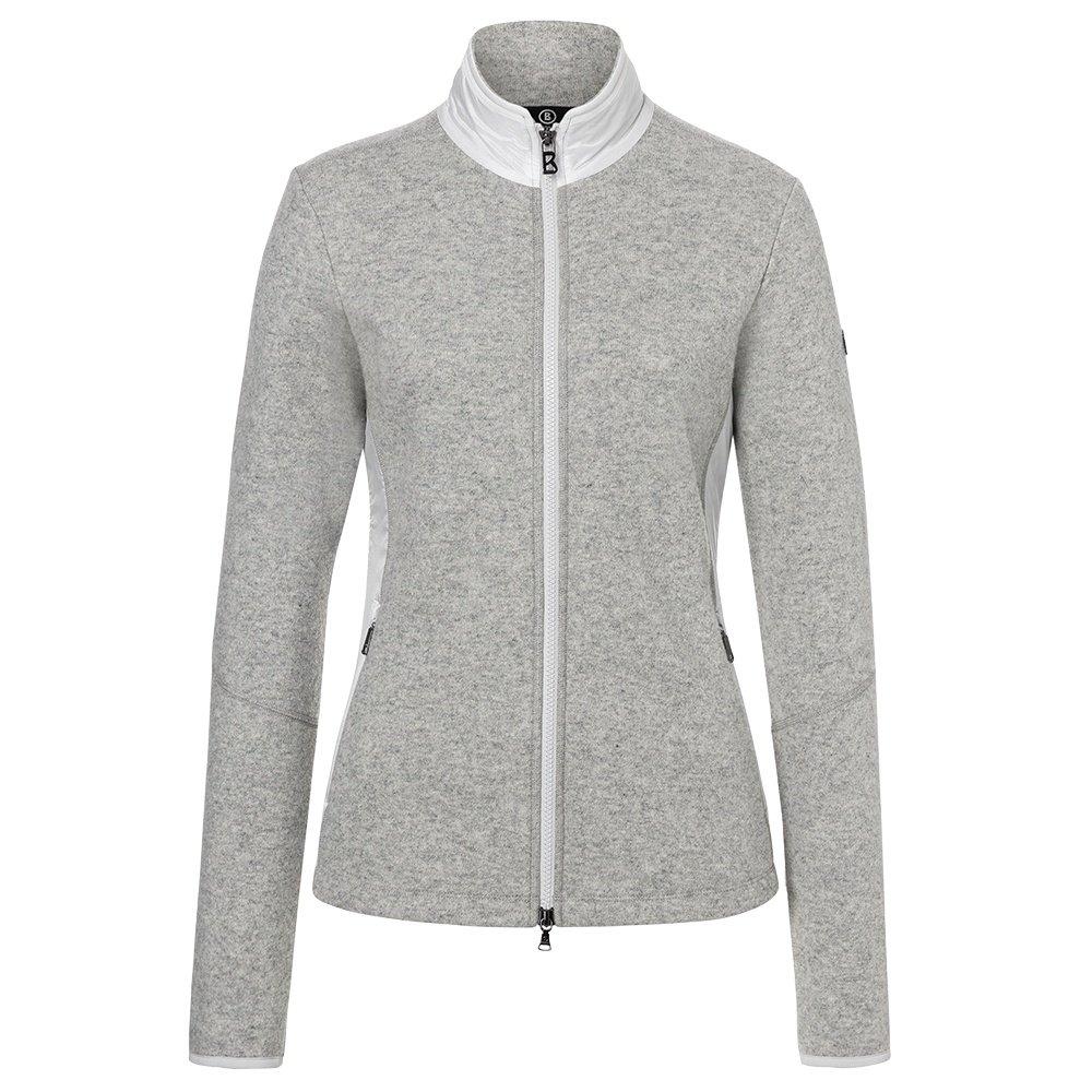 Bogner Graze Full Zip Sweater (Women's) - Grey