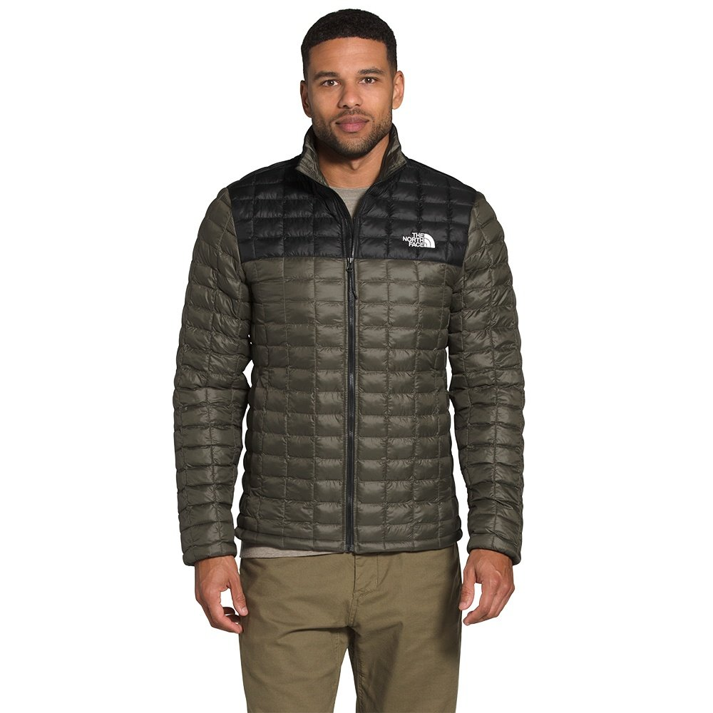 The North Face ThermoBall Eco Insulator Jacket (Men's) - New Taupe Green Matte/TNF Matte Black