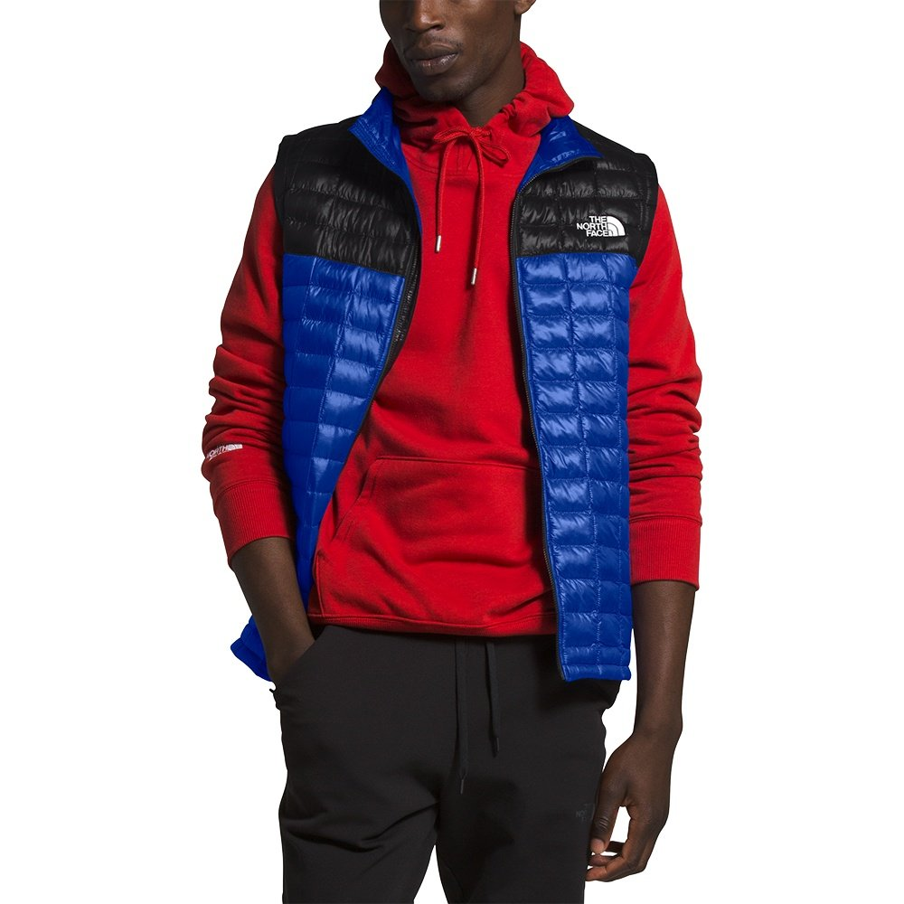 The North Face ThermoBall Eco Vest (Men's) - TNF Blue/TNK Black