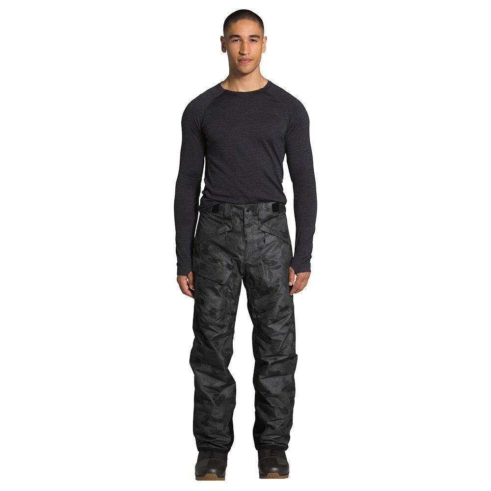 The North Face Freedom Insulated Ski Pant (Men's) - TNF Black Tonal Duck Camo Print