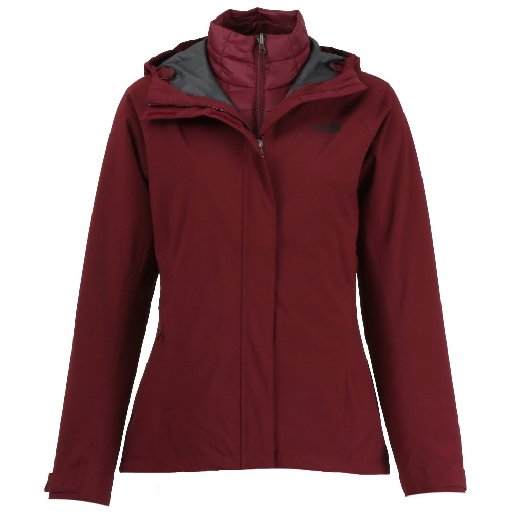 The North Face Thermoball Triclimate Jacket (Women's) - Deep Garnet Red