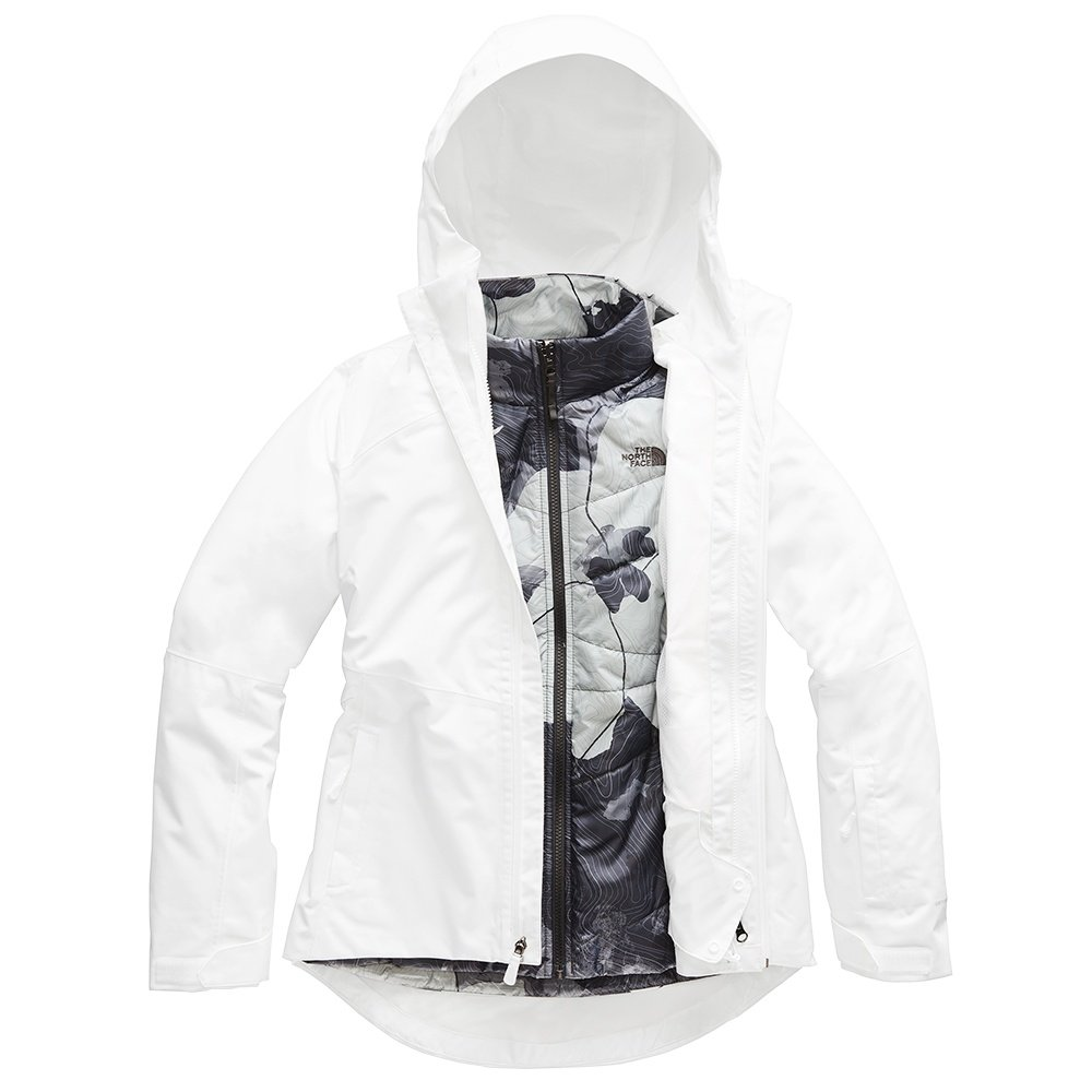 The North Face Clementine Triclimate Jacket (Women's) - TNF White