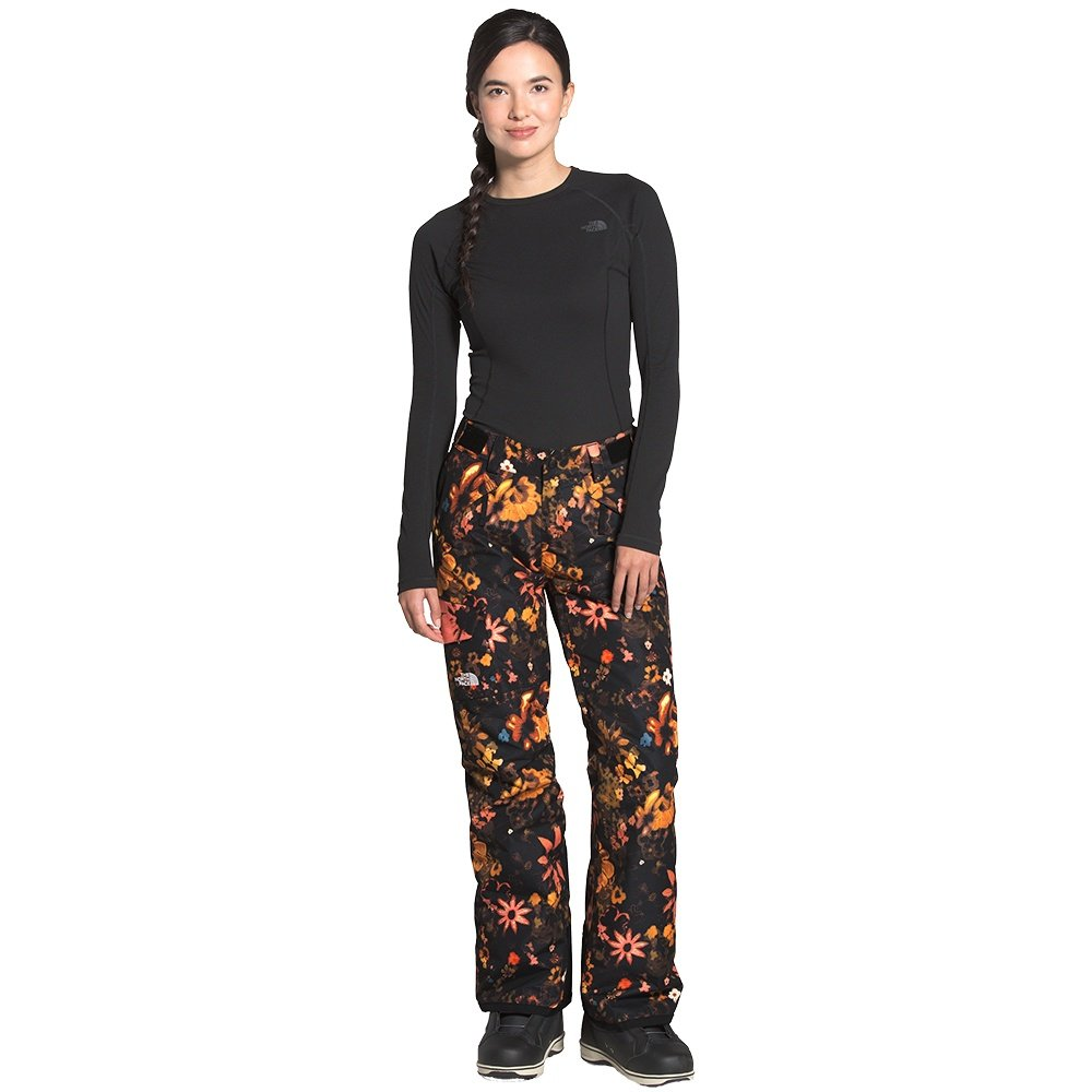The North Face Freedom Insulated Ski Pant (Women's) - TNF Black Flower Child Multi Print